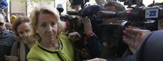 La Razón aplaude a Rajoy por dejar a Esperanza Aguirre sola defendiendo la bajada de impuestos