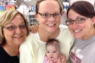 Una mujer se muere, da a luz a su bebé por cesárea y...¡resucita!