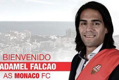 El Mónaco anuncia el fichaje de Radamel Falcao hasta 2018