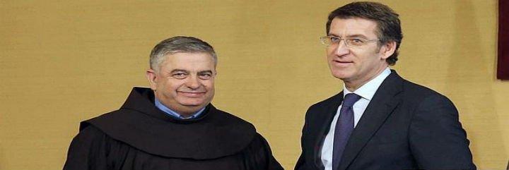 """Feijóo a Rodríguez Carballo: """"Es un honor que en el Vaticano se hable gallego"""""""