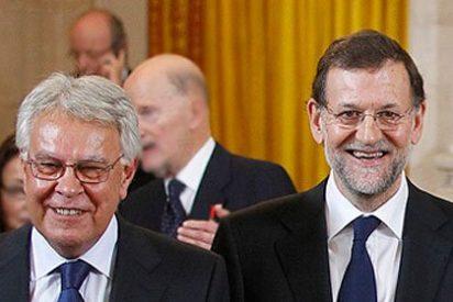 Felipe González se reunió con Rajoy el día que Aznar la montó en 'Antena 3'