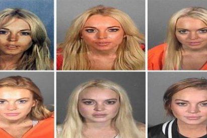 La actriz Lindsay Lohan invita a su camello por la cara al centro de rehabilitación