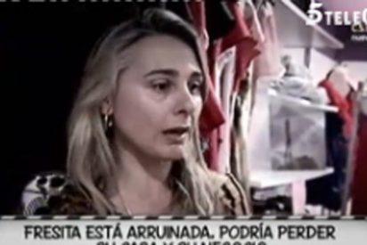 """Fresita, de ganadora de 'GH5' a estar en la calle, arruinada y desesperada: """" ¡Ya no puedo más! ¡Soy una perdedora!"""""""