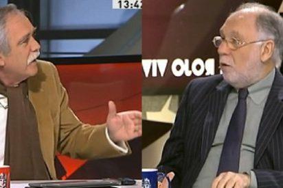 """Ekaizer sigue con sus ataques de histeria: """"¿Eres periodista o qué coño eres? ¡Eres un mentiroso!"""""""