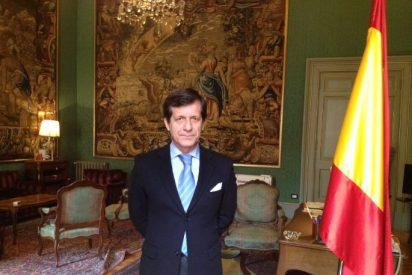 Conversaciones en el Palacio de España en Roma
