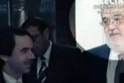 [VÍDEO] Telecinco le declara la guerra a Antena 3 acusándole de utilizar a Aznar para conspirar contra Rajoy