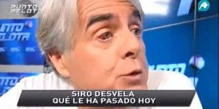 """Siro López luce un derrame en el ojo tras pelearse con Fernando Burgos (Onda Cero): """"Luego se permite el lujo de llamar bastardos a quienes defendemos a Mourinho"""""""