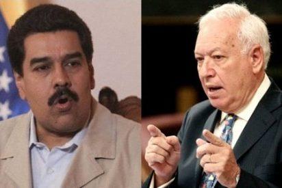 """[Video] Maduro a Margallo: """"Saque sus narices de Venezuela, fuera de aquí canciller español"""""""