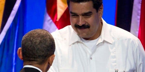 [Video] ¿A quién acusa Maduro de la violencia en Venezuela? A Obama, 'Goliat' imperialista