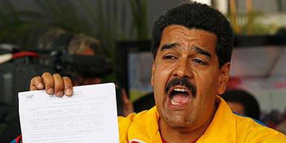 """Maduro saca 3.000 soldados a las calles de Caracas con la excusa de """"combatir la inseguridad"""""""