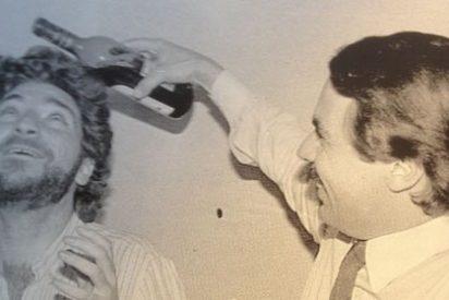 La premonitoria foto de Miguel Ángel Rodríguez con Aznar en los años de vino y rosas del aznarismo