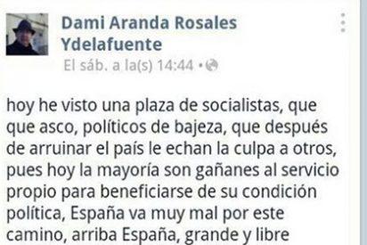 """La Guardia Civil supende tres meses al sargento que decía """"sentir asco"""" de los socialistas"""