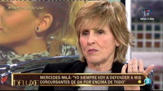 """Las primeras palabras de Mercedes Milá tras la expulsión de Argi: """"Respeto la postura de Vasile, han sido horas complicadas para él"""""""