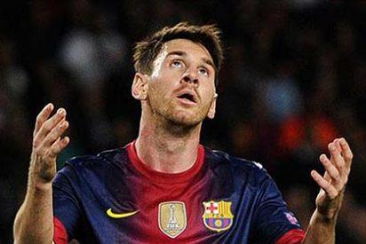 Leo Messi está lesionado y estará de dos a tres semanas de baja