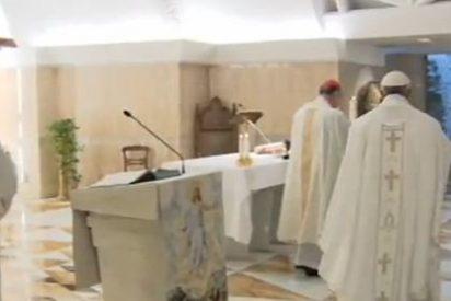 """El Papa vuelve a denunciar a los """"cristianos tristes y desanimados"""""""