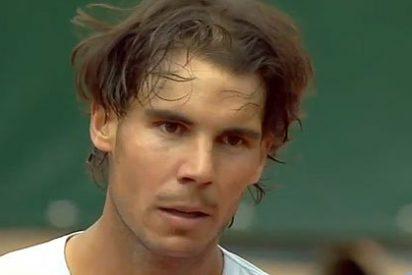 Rafa Nadal se lleva un buen susto en su primer partido de Roland Garros