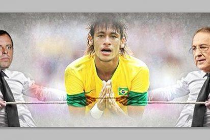 Real Madrid y Barcelona se pelean por el delantero brasileño Neymar