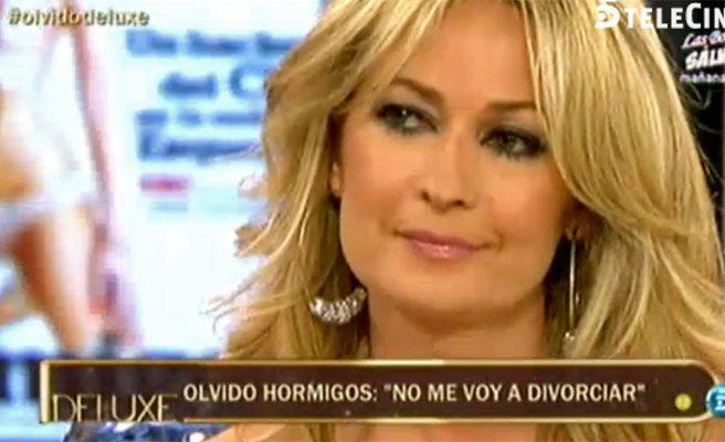 Olvido Hormigos cava su propia 'tumba mediática': ¿Desatiende a su familia? ¿Por qué su marido, aún queriendo, no se divorcia de ella?