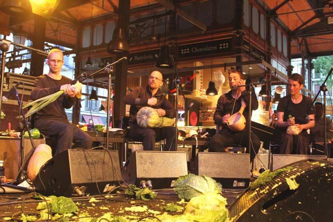 El Mercado de San Miguel celebra su Centenario de la mano de La Orquesta Vegetal de Viena