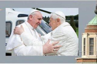 """Francisco, a Benedicto: """"Bienvenido"""""""