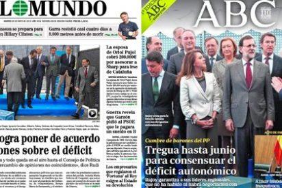 Aznar vuelve a pedirle liderazgo a un Rajoy incapaz de poner orden entre los suyos