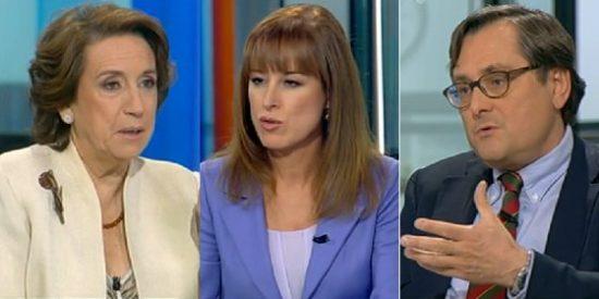 """Aguilar se mofa de los entrevistadores de Aznar: """"El ex presidente estaba ante gente cariñosa"""""""