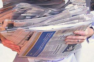 Cada periódico ve el Barómetro del CIS del color de su afición política