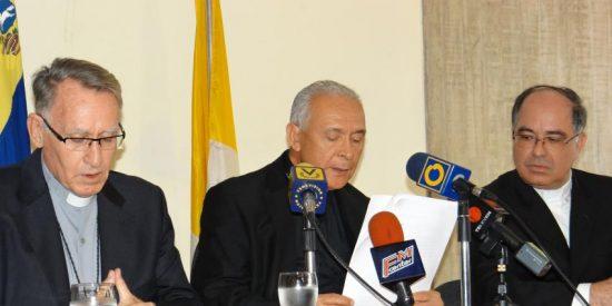 Los obispos piden que se frenen los enfrentamientos y la represión en Venezuela