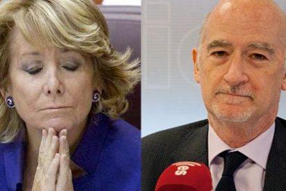 """Aguirre pone en su sitio al 'indignado' Recarte: """"Yo soporto el juicio de las hemerotecas, no sé si él puede decir lo mismo"""""""