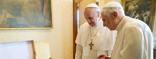 Benedicto regresa junto a Francisco