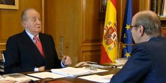 """Jaime González: """"Lo que hace TVE llega al paroxismo de lo absurdo, la televisión pública no está para interpretar al Rey"""""""