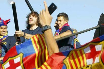 """'Loco' Gatti critica la ausencia de banderas españolas en la celebración del Barça: """"¿Eso es España o Polonia?"""""""
