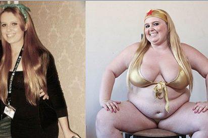 La chica mona que sueña con llegar a los 190 kilos y ser la mas gorda del mundo