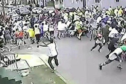 El vídeo en el que se ve al facineroso sacar la pistola y balear a 19 personas