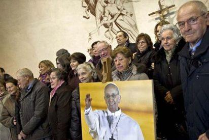 """Los """"Bergoglio"""" italianos visitan al Papa"""