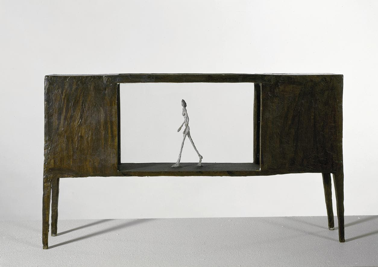Giacometti y ese hombre que camina