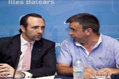 El secretario general del PP de Baleares paga con fondos públicos su despedida de alcalde
