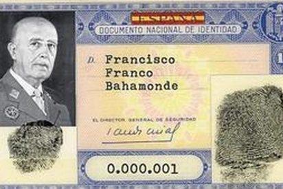 ¿Sabías que Franco tenía el DNI número 1 y que la Familia Real posee del 10 al 99?