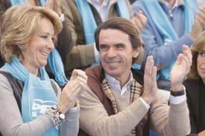 La relación de Aznar con Esperanza Aguirre: cordial pero de estrategia conjunta, nada de nada