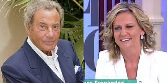 """Arturo Fernández en 13TV: """"Estoy enamorado de Isabel San Sebastián, le he tirado los tejos, pero ella no ha entrado al trapo"""""""