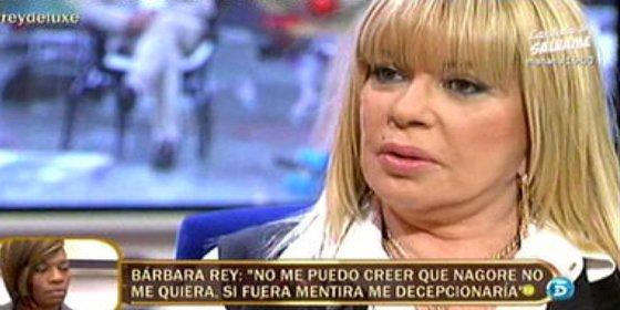 Bárbara Rey da un espectáculo en el Deluxe lleno de lágrimas, drogas, rencor, dardos envenenados e incoherencias