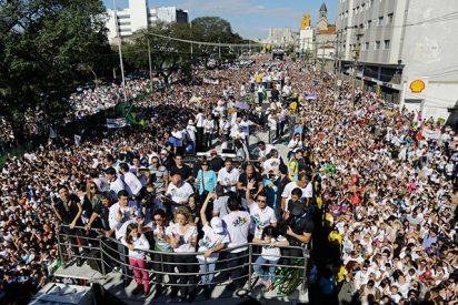 """Dos millones de brasileños """"marchan para Jesús"""""""