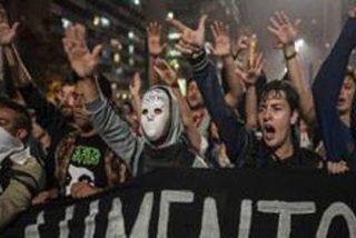 Brasil vive la mayor protesta pese a la retirada del alza del transporte