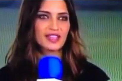 Sara Carbonero la vuelve a liar en Twitter, ahora con Cavani
