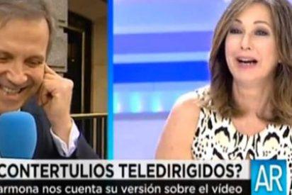 """Carmona no pierde la sonrisa: """"¿Qué opina Rubalcaba de lo mío? Espera que voy a mirar lo que me dicen por el WhatsApp"""""""