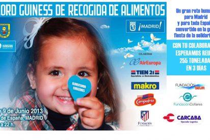 Mensajeros de la Paz y el Record Guinness más solidario: recoger 255 toneladas de alimentos en 3 días