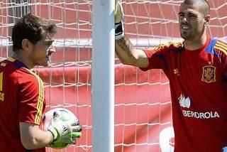 ¿Debe ser Casillas o ponemos a Valdés como portero titular en la Copa Confederaciones?