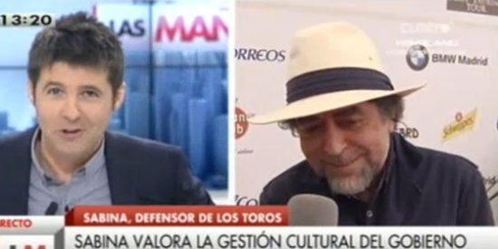 """Joaquín Sabina en Cuatro: """"Con seis millones de parados vino Hitler al poder en la Alemania, tenemos que tener cuidado"""""""