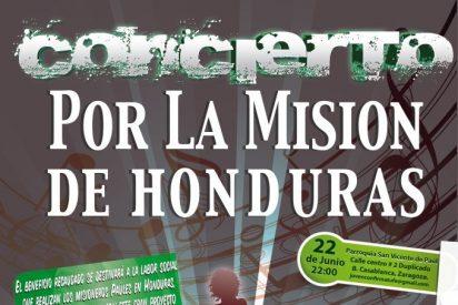 Concierto por la misión de Honduras de los paúles
