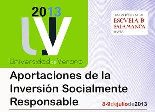 Aportaciones de la Inversión Socialmente Responsable